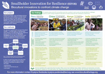 SIFOR Poster, IIED