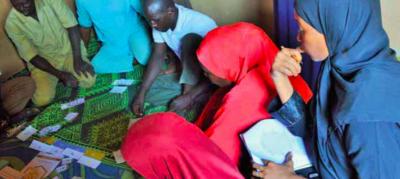villagers in niger