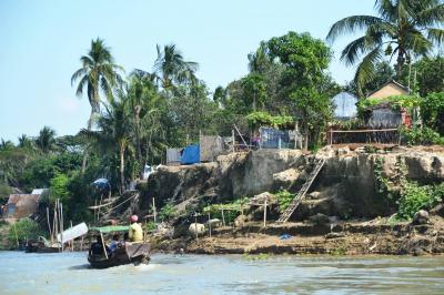 Many coastal villages in Bangladesh have had to learn how to live with the cyclones. Credit: Sonja Ayeb-Karlsson