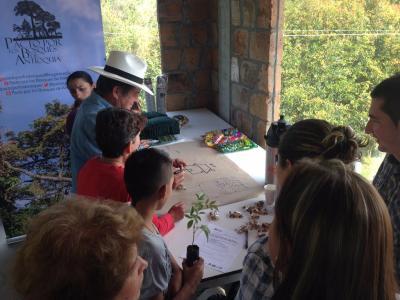 BANCO2 workshop in Antioquia. Crédit: Edwin Laverde for Andean Forest Program