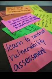 Bahasa climate vulnerability assessment training