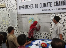 Customised Climate Adaptation Training in Lombok, Indonesia