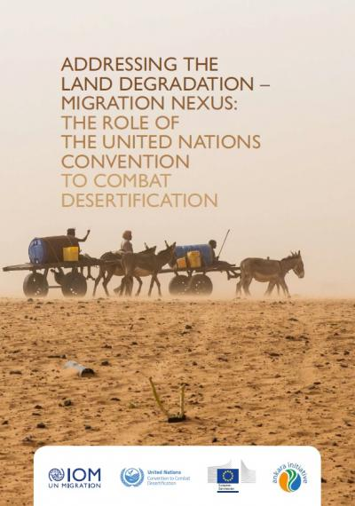 Addressing the land degradation-migration nexus cover