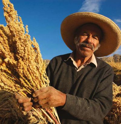 Bolivian farmer | Thomas Mueller, SPDA