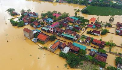 Flooding in Central Vietnam (Photo: Duy Hieu)