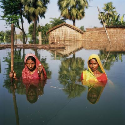 Flooding, Bihar, India, 2007