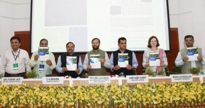 The Union government launching the target for achieving Land Degradation Neutrality by 2030.