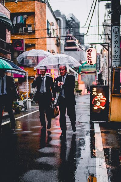 Businessmen in Japan
