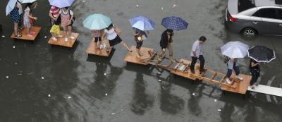 Yangon flooding 2