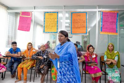 Women Training in Bangladesh