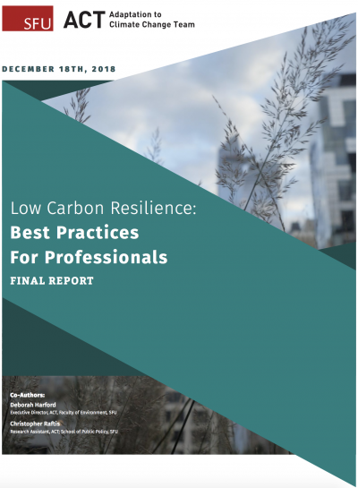 Low Carbon Resilience Best Practices for Professionals