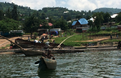 Fishermen on Lake Kivu in Rwanda. Photo: Adis Dzebo / SEI