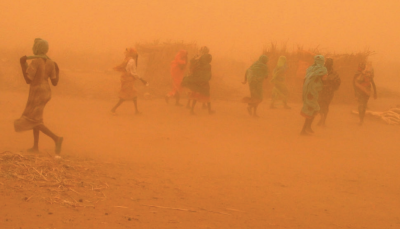 Image: © David Jensen (UN Environment)/Flickr   Unsustainable land management, particularly when coupled with droughts, has contributed to higher dust storm activity