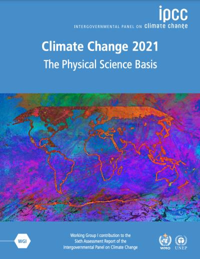 IPCC 6th Assessment Report 2021