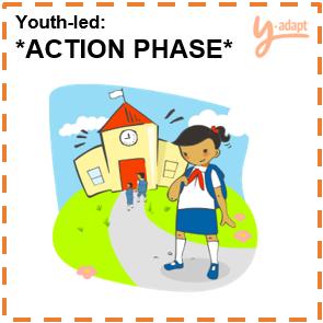 Y-Adapt Youth-led Action Phase!